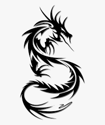 Easy Dragon Designs Tattoo Dragon Png Image Simple Dragon Tattoo Designs