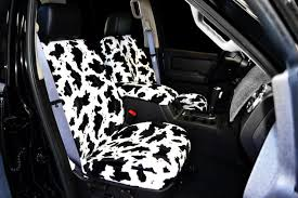 cow seat covers neo leopard