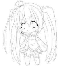 580x650 anime coloring pages chibi anime coloring pages cute anime chibi