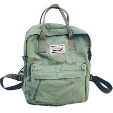 LuckyZ <b>Womens</b> Casual Style Lightweight <b>Canvas Backpack</b> School ...
