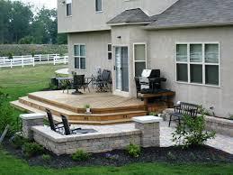 patios and decks ideas. Nice Wood Patio Deck Ideas Patios And Decks