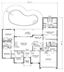 Simple Floor Plan Of A House In Spanish Beachfront Traditional Coastal Mediterranean Plans Home Intended Ideas