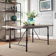 metal dining room furniture. nelson industrial modern metal dining table by inspire q classic room furniture m