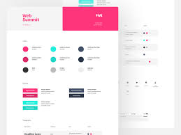 Style Template Project Style Guide Template By Ivan Bjelajac Dribbble Dribbble