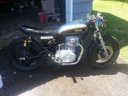 1977 yamaha xs650 cafe racer