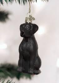 Christmas Ornament Black Lab