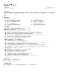 Fast Food Resume Examples Www Sailafrica Org