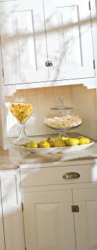 Cottage Kitchen Lemon Display Dura Supreme Cabinetry