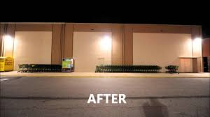 foods parking lot lighting case study replacment of metal halide with induction you
