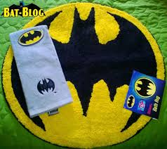 check out this wonderful photo of a couple of the brand new batman bathroom accessories being sold at target this pic was sent in by a long time bat blog