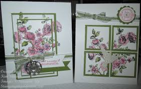 QC Flower Garden 7 Ideas For Vellum Card Stock  DOstamping With Card Making Ideas Stampin Up