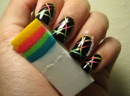 Nail Art Designs With Tape | Nail Designs, Hair Styles, Tattoos ...