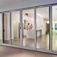 security doors for sliding glass doors man in wife in kitchen behind ultimate sliding doors security