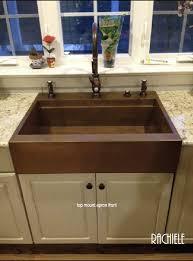 top mount apron front sink. Top Mount Farmhouse Workstation Sink To Apron Front