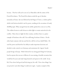 essay on dom and les mis religion grade  3