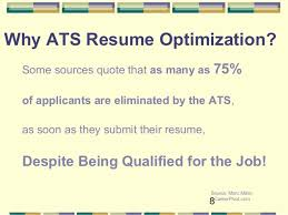 Source: Jobscan.co Blog; 8. 8 Why ATS Resume Optimization?