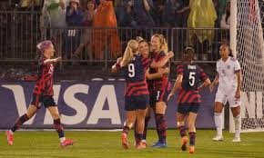 Controversy erupted as several players on the u.s. Usa Women Thrash Mexico In Downpour As Unbeaten Streak Reaches 43 Games Usa Women S Football Team The Guardian