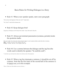 punctuating dialogue in an essay proofreading affordable and  punctuating dialogue in an essay