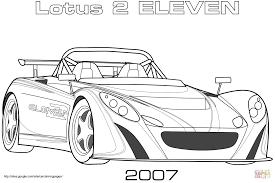 Coloriage De Voiture Lotus