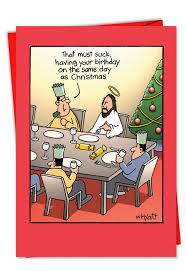 Birthday On Day Card Birthday On Christmas Card