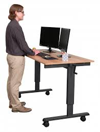 desk 60 crank adjule height sit to stand up