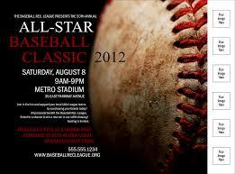 Baseball Stiches Logo Flyer