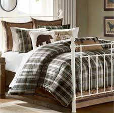 Dark Green White Plaid Patterned Quilts Excerpt Round Bed Frame ... & hadley rustic plaid comforter bedding woolrich twin sale find this pin and  more decor bed spreads throws quilts sheets etc Adamdwight.com