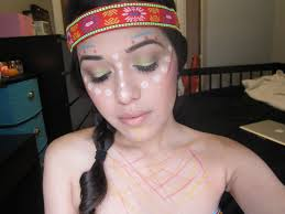 indian halloween makeup