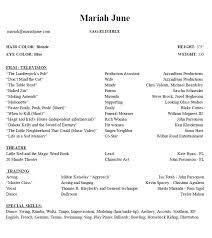 Demo Reels Videos And Acting Resume Mariah June
