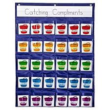 Classroom Pocket Charts Positive Reinforcement Pocket Chart Carson Dellosa Education Hanging Behavior Pocket Chart Classroom Management Pocket Chart For Cell Phones
