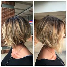 Balayage Ombr Inverted Bob Haircut Our Stylist Work Pinterest