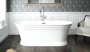 soaker tubs freestanding freestanding soaking tub one side view deep