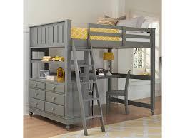 kids loft bed with desk. NE Kids Lake HouseFull Loft Bed With Desk D
