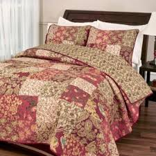 Buy Burgundy Quilts from Bed Bath & Beyond & Stanfield Full/Queen Quilt Set in Burgundy Adamdwight.com