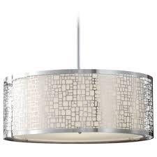 chandelier  drum shade pendant modern crystal chandelier drum
