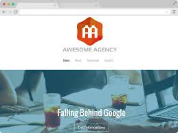 Flash Website Templates Adorable Free HTML48 Agency Website Template Download
