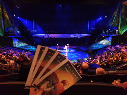 Treasure Island Seating Chart Mystere Mystere By Cirque Du Soleil Treasure Island Ticket Las