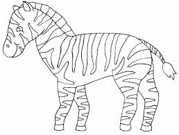 Small Picture coloring pages of zebra print for kids Coloring Point