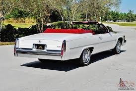 rare 1979 Cadillac Deville Convertible hess ernhart 67ks 1 owner ...