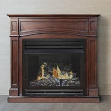 vent free gas fireplace safety with pleasant hearth dual fuel vent free gas fireplace amp reviews wayfair