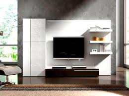 Led Wooden Wall Design Living Room Tv Unit Designs For Small Contemporary Modern