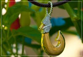 at mens hardwear fish hook pendants in gold sterling silver koa wood stone bone fossil and mother of pearl now or visit us on kauai
