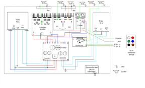 making home theater 5 1 surround amplifier power amplifier wiring diagram home theater amplifier 5 1 amplifier