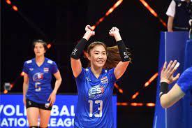 สุดต้าน ตบสาวไทย แพ้ จีน วอลเลย์บอลเนชั่นส์ ลีก 2021 : PPTVHD36
