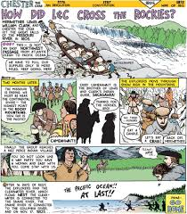 homeschool resources archives tina s dynamic homeschool plus sacagawea factshow did lewis clark cross the rockies comic