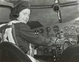 Virginia Mae Hope, Women's Air Service Pilot, 1943.   Minnesota ...