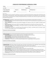 Employee Review Examples Phrases 4 Free Sample Performance Appraisal ...