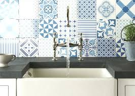 blue and white patterned wall tiles bathroom kitchen various for in extraordinary p