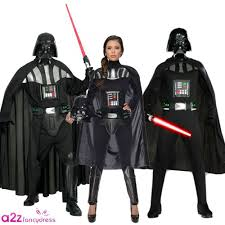 mens las darth vader star wars cosplay sci fi fancy dress costume