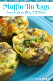 in tin eggs are a great easy way to make breakfast these are zero points on weight watchers freestyle plan and a delicious meal option